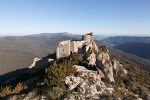 Peyrepertuse a vantage point